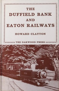 Image for THE DUFFIELD BANK & EATON RAILWAYS