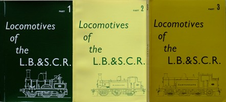 Image for Locomotives of the L.B. &S.C.R.  (3 part set)