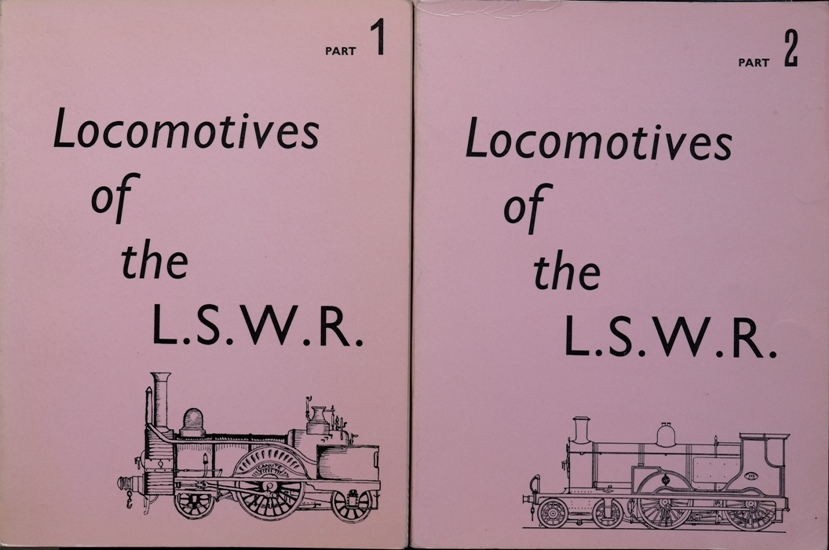 Image for LOCOMOTIVES OF THE L.S.W.R.  (Parts 1 &,2)