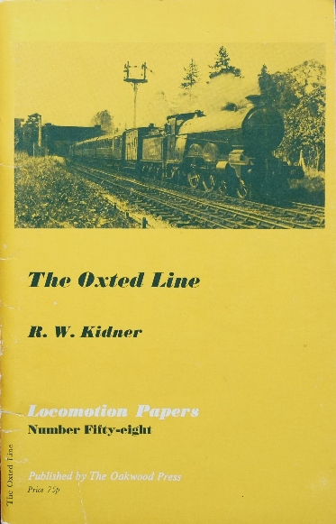 Image for THE OXTED LINE