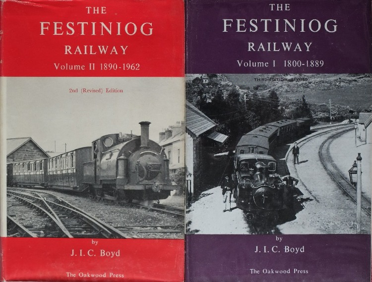 Image for THE FESTINIOG RAILWAY (2 vols)