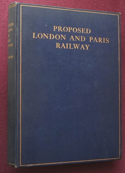 Image for PROPOSED LONDON AND PARIS RAILWAY
