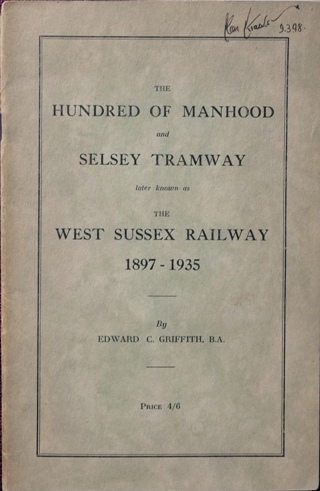 Image for THE HUNDRED OF MANHOOD AND SELSEY TRAMWAY