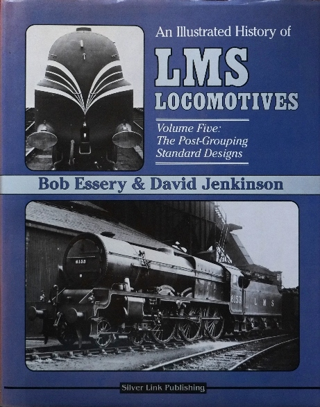 Image for AN ILLUSTRATED HISTORY OF LMS LOCOMOTIVES Volume Five