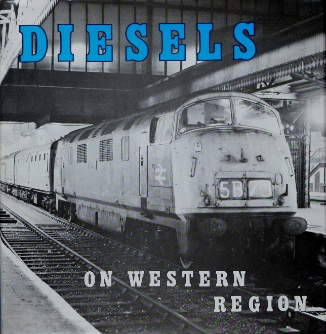 Image for DIESELS ON WESTERN REGION