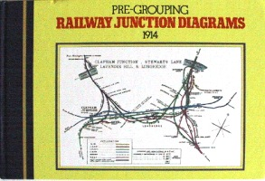 Image for PRE-GROUPING RAILWAY JUNCTION DIAGRAMS 1914