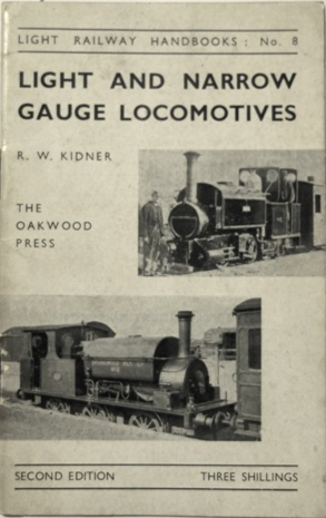 Image for LIGHT AND NARROW GAUGE LOCOMOTIVES