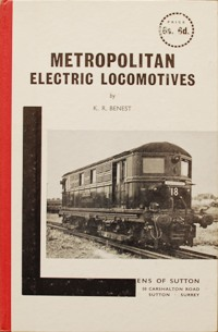 Image for METROPOLITAN ELECTRIC LOCOMOTIVES