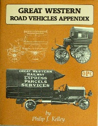 Image for GREAT WESTERN ROAD VEHICLES APPENDIX