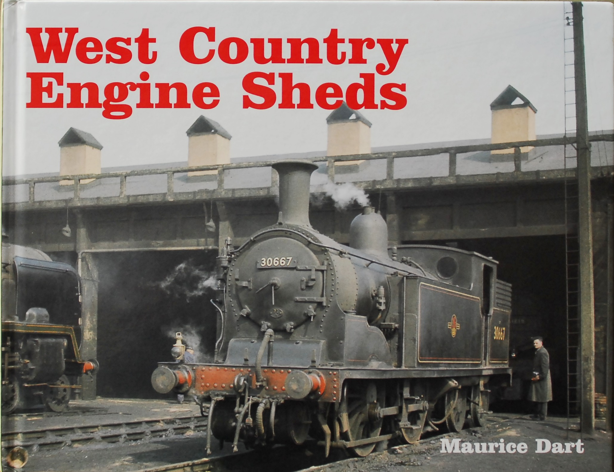 Image for WEST COUNTRY ENGINE SHEDS