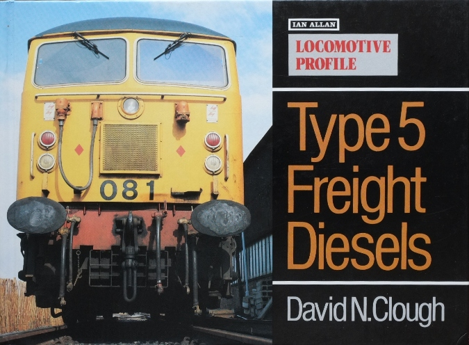 Image for LOCOMOTIVE PROFILE - TYPE 5 FREIGHT DIESELS
