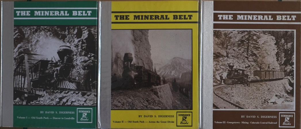 Image for The Mineral Belt (3 Volume Set)