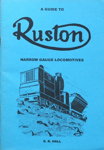 Image for A GUIDE TO RUSTON NARROW GAUGE LOCOMOTIVES
