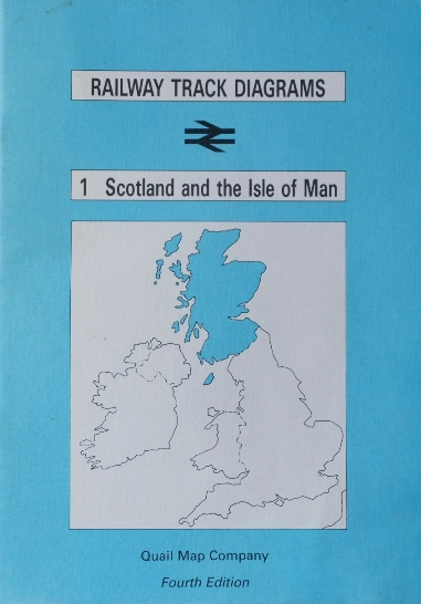 Image for BRITISH RAIL TRACK DIAGRAMS 1 SCOTLAND AND THE ISLE OF MAN