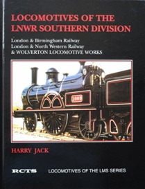 Image for LOCOMOTIVES OF THE LNWR SOUTHERN DIVISION