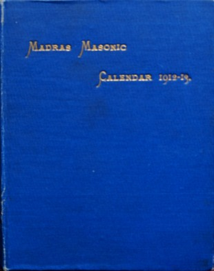 Image for Masonic Calendar and Directory for the District of Madras 1912-13