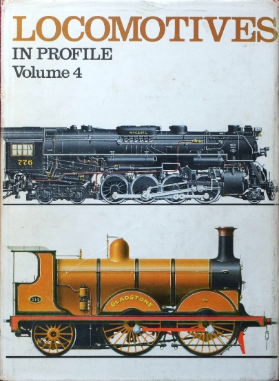 Image for LOCOMOTIVES IN PROFILE Volume 4