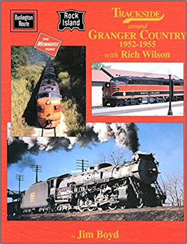 Image for Trackside around Granger Country 1952-1955 with Rich Wilson