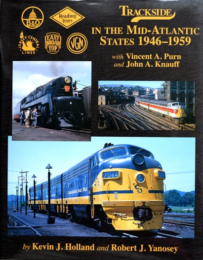 Image for TRACKSIDE IN MID-ATLANTIC STATES 1946-1959 with Vincent A Purn and John A Knauff