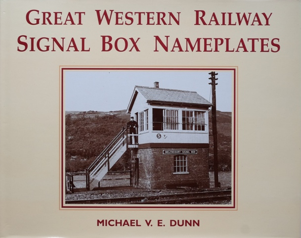 Image for Great Western Railway Signal Box Nameplates