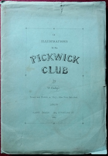 Image for 12 Illustrations to the Pickwick Club