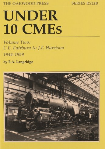 Image for Under 10 CMEs Volume Two : C.E. Fairburn to J.F. Harrision 1944-1959