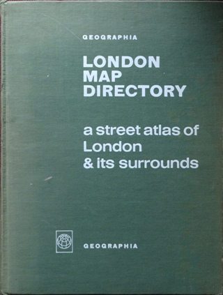 Image for London Map Directory : A Street Atlas of London & Its Surrounds