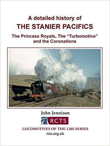 Image for A Detailed History of The Stanier Pacifics