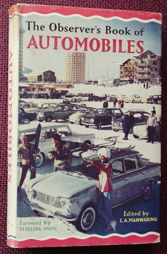 Image for THE OBSERVER'S BOOK OF AUTOMOBILES (1963)