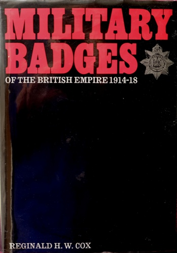Image for Military Badges of the British Empire 1914-18