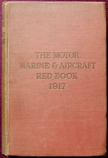 Image for The Motor, Marine and Aircraft Red Book, 1917