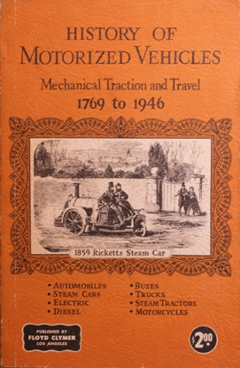 Image for A Short History of Mechanical Traction and Travel