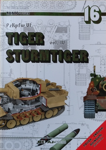 Image for TankPower 16 : PzKpfw VI Tiger Sturmtiger Vol.4