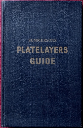 Image for Summersons Platelayers Guide