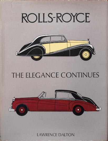 Image for Rolls-Royce : The Elegance Continues