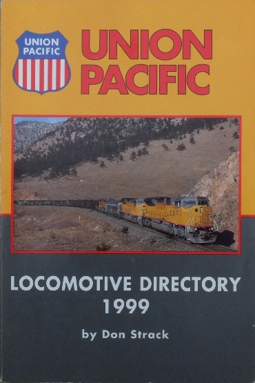 Image for Union Pacific Locomotive Directory 1999