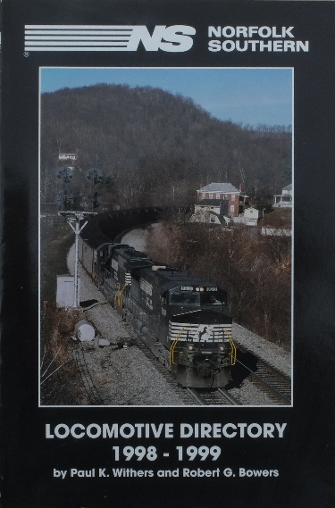 Image for NORFOLK SOUTHERN LOCOMOTIVE DIRECTORY 1998-1999