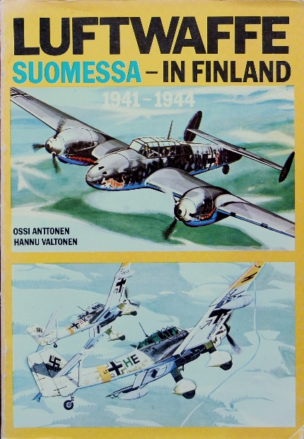 Image for Luftwaffe Suomessa - in Finland