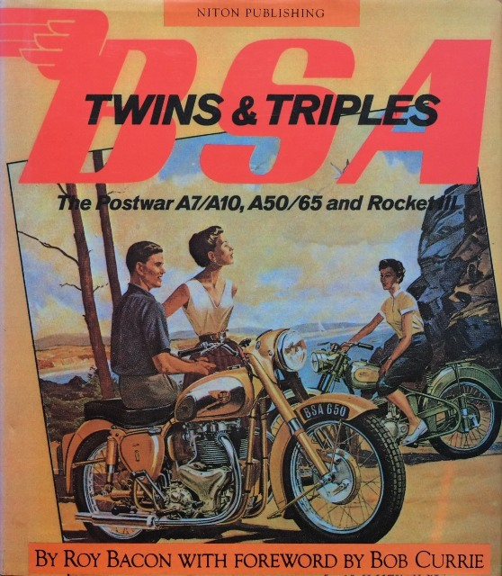 Image for BSA Twins and Triples : The Postwar A7/A10, A50/65 and Rocket III