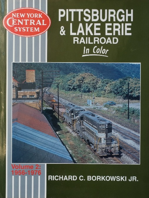 Image for Pittsburgh & Lake Erie Railroad in Color Volume 2 : 1956-1976