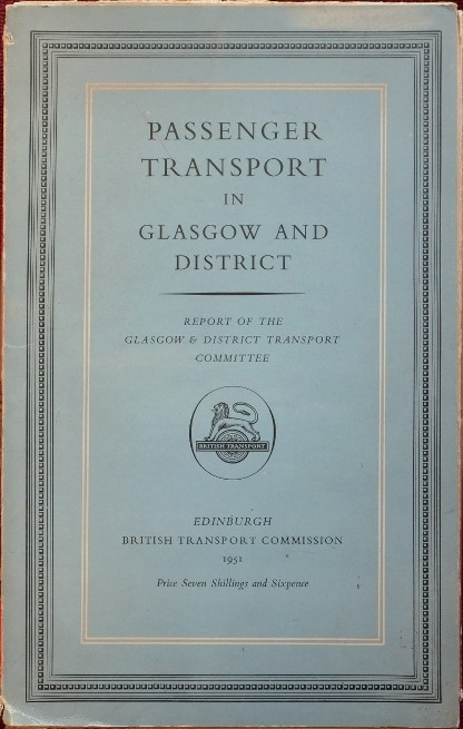 Image for Passenger Transport in Glasgow and District