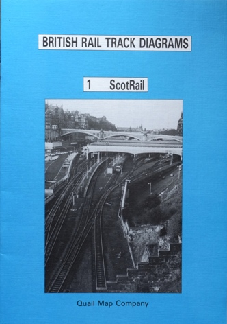 Image for BRITISH RAIL TRACK DIAGRAMS 1 - SCOTRAIL