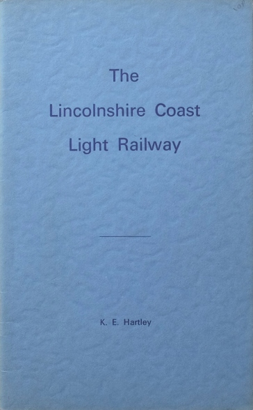 Image for THE LINCOLNSHIRE COAST LIGHT RAILWAY